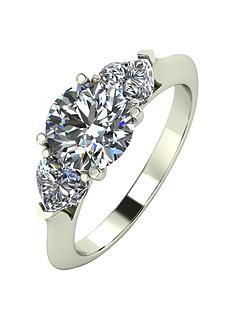 moissanite-9ct-gold-1-carat-eq-moissanite-round-amp-heart-shaped-trilogy-ring