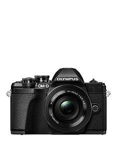 olympus-om-d-e-m10-mk-iii-black-camera-mzuiko-14-42mm-ez-pancake-lens-kit