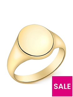 love-gold-9ct-gold-oval-signet-ring