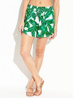 v-by-very-printed-wrap-over-beach-shorts-leaf-print