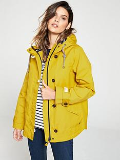 0715d19850e Joules Coast Waterproof Hooded Jacket - Yellow