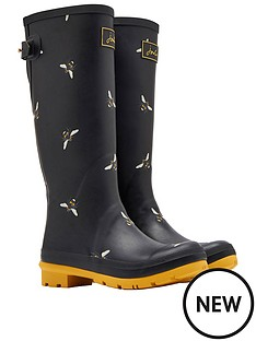 joules-print-welly-blkotb