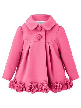 27237d43d Monsoon Baby Penny Roses Coat