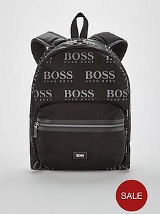 boss-iconic-all-over-logo-rucksack-black