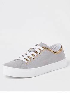 river-island-river-island-chain-lace-up-trainers-grey