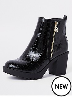 river-island-river-island-chunky-ankle-heel-boots-black