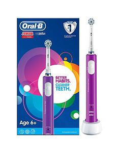 oral-b-oral-b-junior-electric-rechargeable-toothbrush-for-children-aged-6-in-purple-2-pin-plug