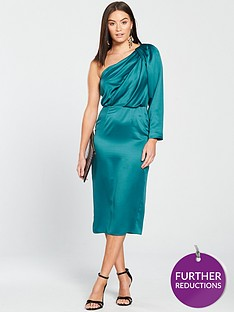 v-by-very-one-shoulder-evening-dress-greennbsp