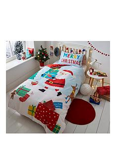 catherine-lansfield-love-from-santa-single-christmas-duvet-cover-set