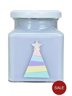 flamingo-candles-rainbow-christmas-tree-candle