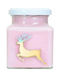 flamingo-candles-reindeer-candle