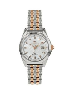 radley-radley-mother-of-pearl-date-dial-rose-gold-and-silver-two-tone-stainless-steel-bracelet-ladies-watch