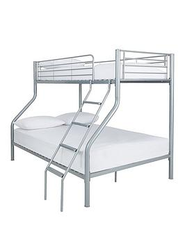 domino-metal-trio-bunk-bed-with-optional-mattresses