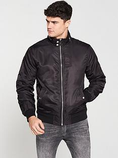 river-island-black-racer-neck-jacket