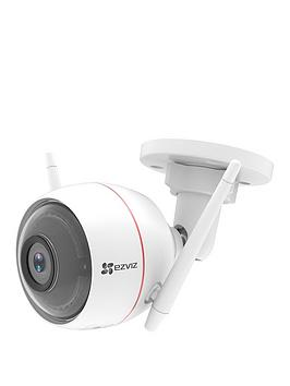 ezviz-1080p-wi-fi-outdoor-smart-home-security-camera-with-siren-amp-strobe-light-works-with-alexa-amp-google-assistant