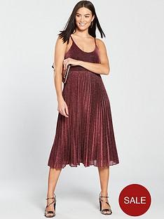 whistles-whistles-regina-sparkle-pleated-dress