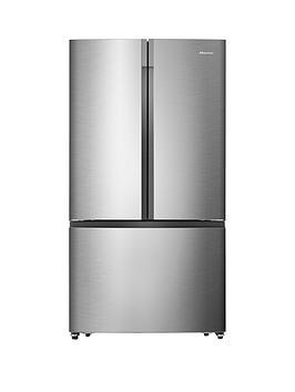 hisense-rf715n4as1-91cm-wide-total-no-frost-french-door-food-centre-fridge-freezer--nbspstainless-steel-effectnbsp