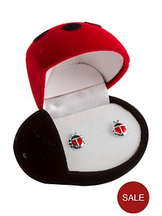 the-love-silver-collection-sterling-silver-enamel-ladybird-childrens-stud-earrings-with-gift-box