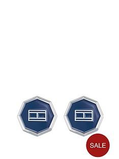 tommy-hilfiger-tommy-hilfiger-stainless-steel-octagonal-blue-cufflinks