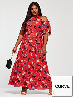 girls-on-film-curve-cold-shoulder-printed-maxi-dress-red