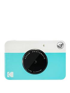 kodak-printomatic-instant-camera-with-optional-20-pack-of-paper-and-case-blue