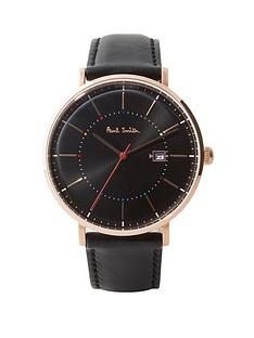 paul-smith-track-grey-and-multi-colour-dial-grey-leather-strap-mens-watch