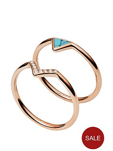 fossil-fossil-rose-gold-semi-precious-turquoise-stacking-ring