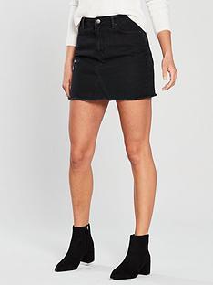 v-by-very-denim-skirt-washed-black