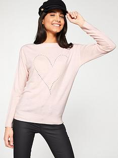 v-by-very-pointelle-heart-jumper-soft-pink