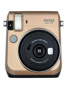fujifilm-instax-mini-70-instant-cameranbspincluding-10-or-30-pack-of-paper-gold
