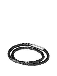 links-of-london-links-of-london-venture-mens-black-double-wrap-bracelet