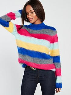 v-by-very-brushed-stripe-jumper-stripe