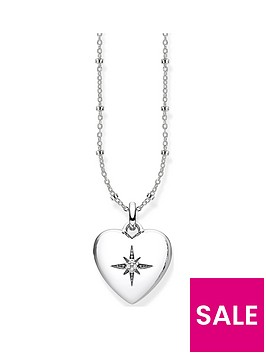 thomas-sabo-sterling-silver-amp-cubic-zirconia-heart-pendant-necklace