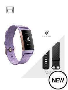 fitbit-charge-3-se-fitness-tracker-lavender-woven