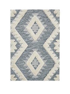ideal-home-folk-geo-tufted-flatweave-rug