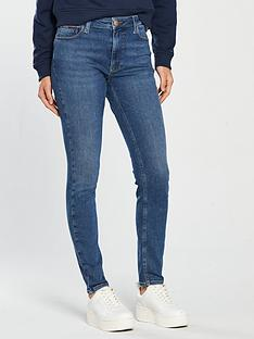 tommy-jeans-santana-high-rise-skinny-jeansnbsp--mid-blue