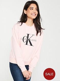calvin-klein-jeans-monogramnbspwashed-crew-neck-sweatshirt-strawberry-cream