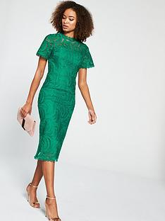 v-by-very-occasion-lace-pencil-dress-green