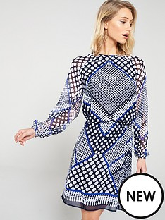 v-by-very-formal-geo-printed-tunic