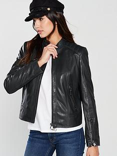 boss-casual-leather-jacket