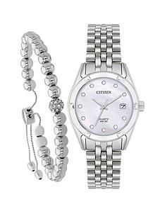 citizen-citizen-swarovski-crystal-mother-of-pearl-dial-stainless-steel-bracelet-ladies-gift-set