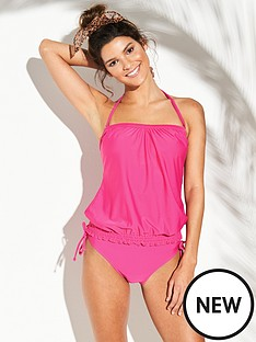 v-by-very-mix-amp-match-blouson-tankini-top-hot-pinknbsp