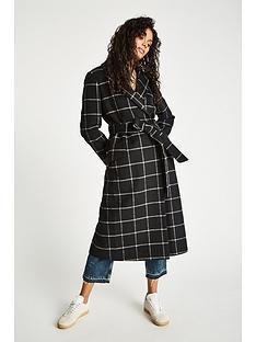 jack-wills-blythe-long-checked-robe-coat-black