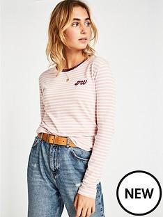 jack-wills-kewstoke-stripe-long-sleeve-t-shirt-pinknbsp