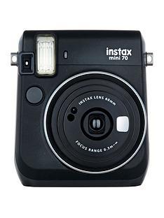 fujifilm-instax-mini-90-instant-cameranbspwith-optional-10-or-30-pack-of-paper-black
