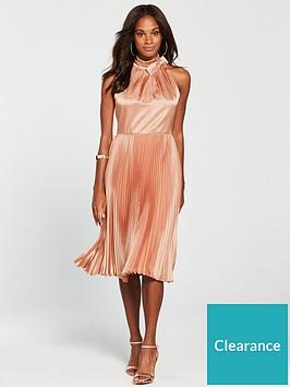 99663ba1e66e4f Ted Baker Shineey Pleated Dress - Dusky Pink