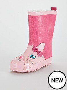 lelli-kelly-cat-pull-on-welly