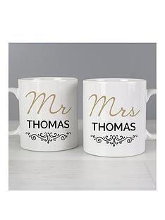 personalised-mr-and-mrs-duo-mug-set