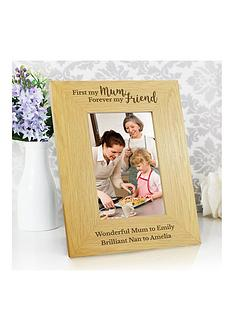 personalised-first-my-mother-forever-my-friend-photo-frame
