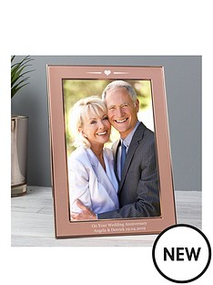 personalised-rose-gold-tone-frame